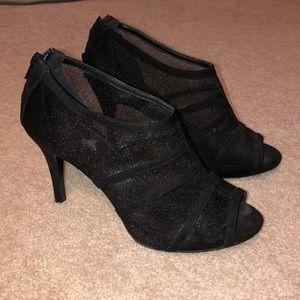 Black booties size 6.5